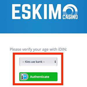 Verifieer je account via iDin